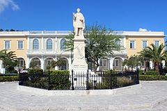 240px-Dionysios_Solomos_statue_-_Zakynthos_–_Greek_–_01
